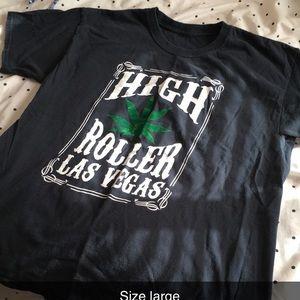 Black T-shirt size large
